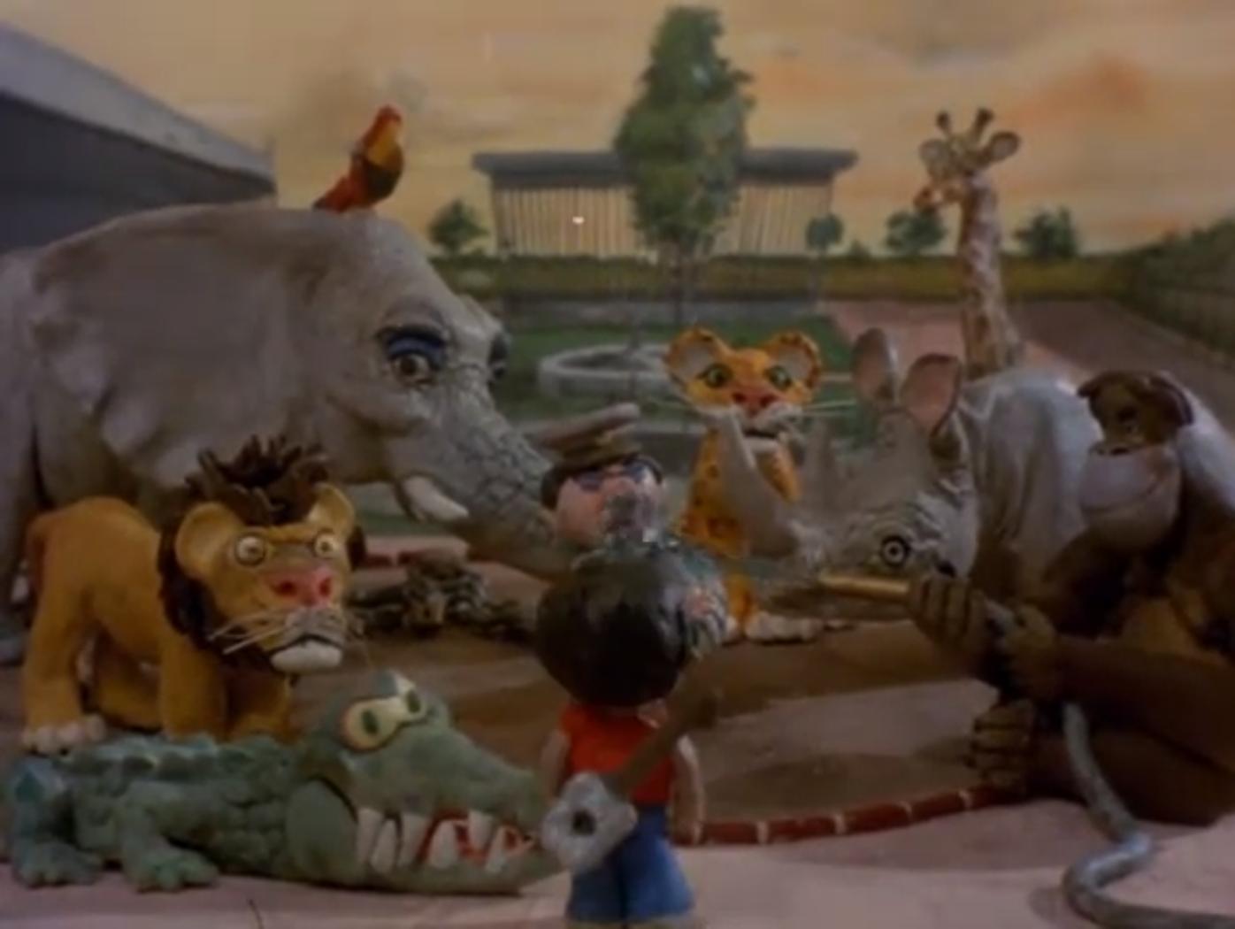Fotograma de la película El cuatro de hojalata.