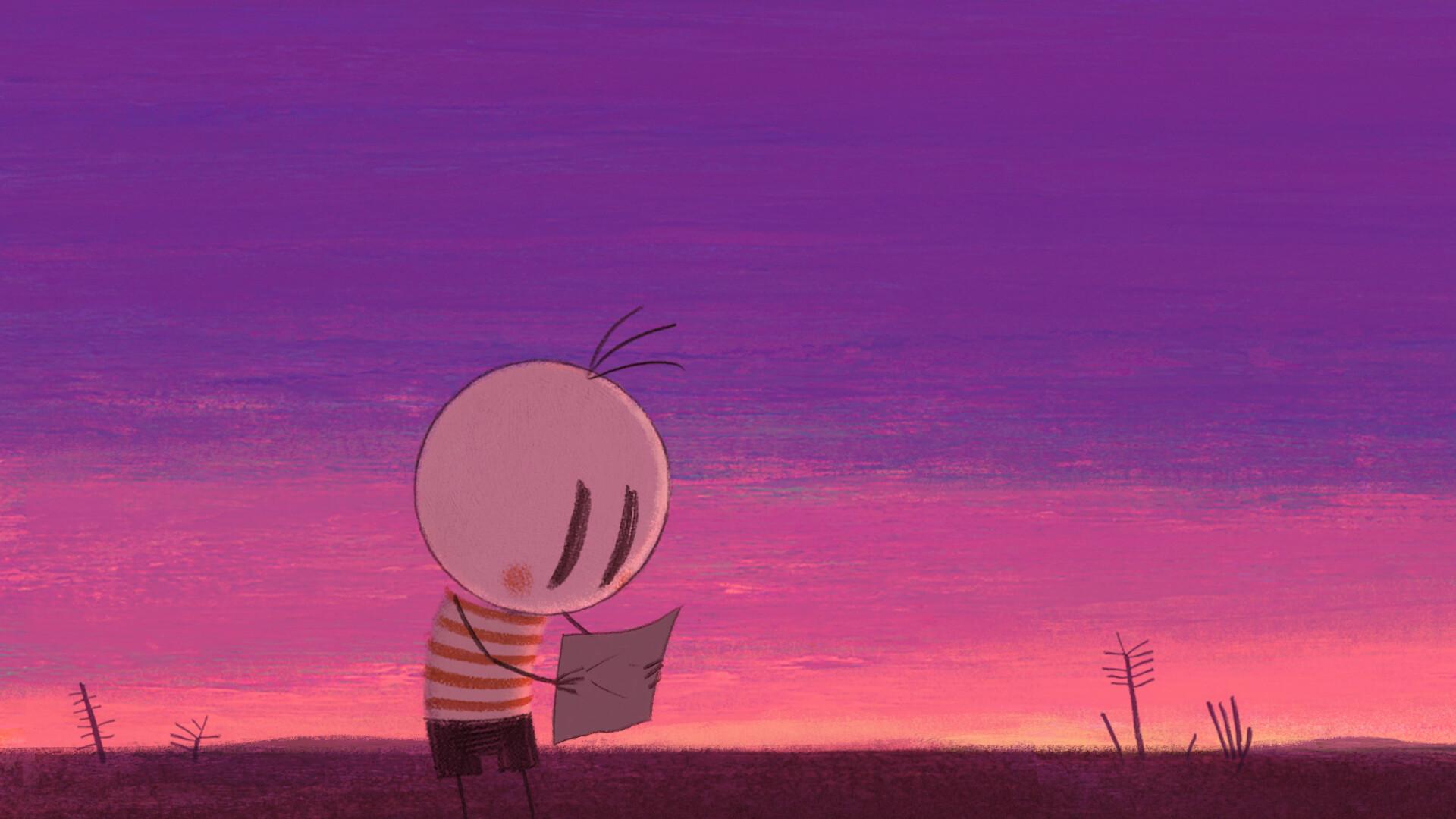 Fotograma de la película El niño y el mundo.
