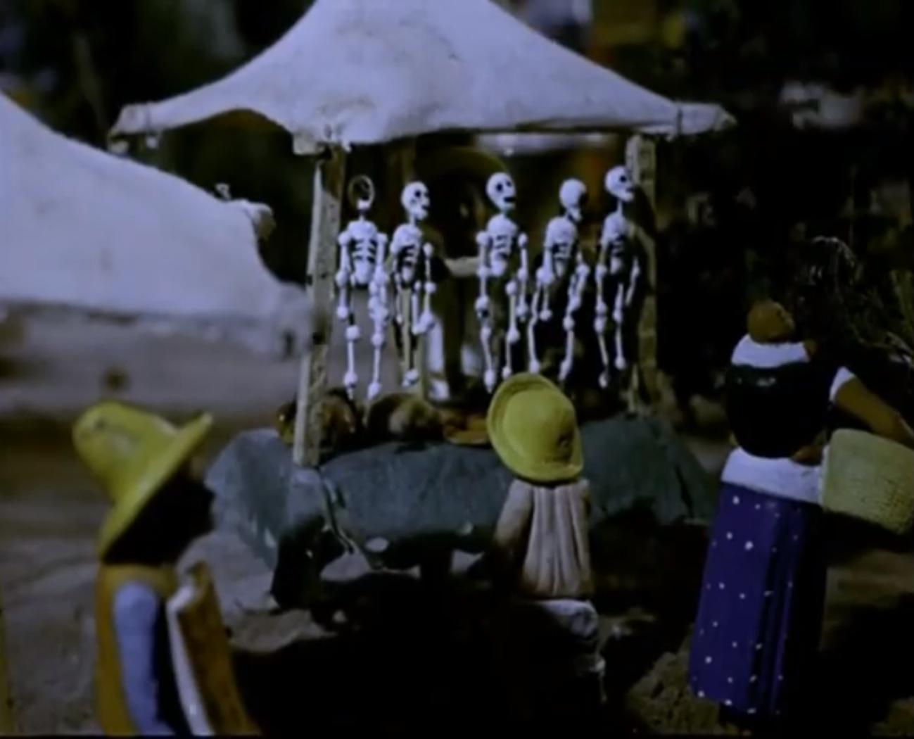 Fotograma de la película ¡Qué viva la muerte!