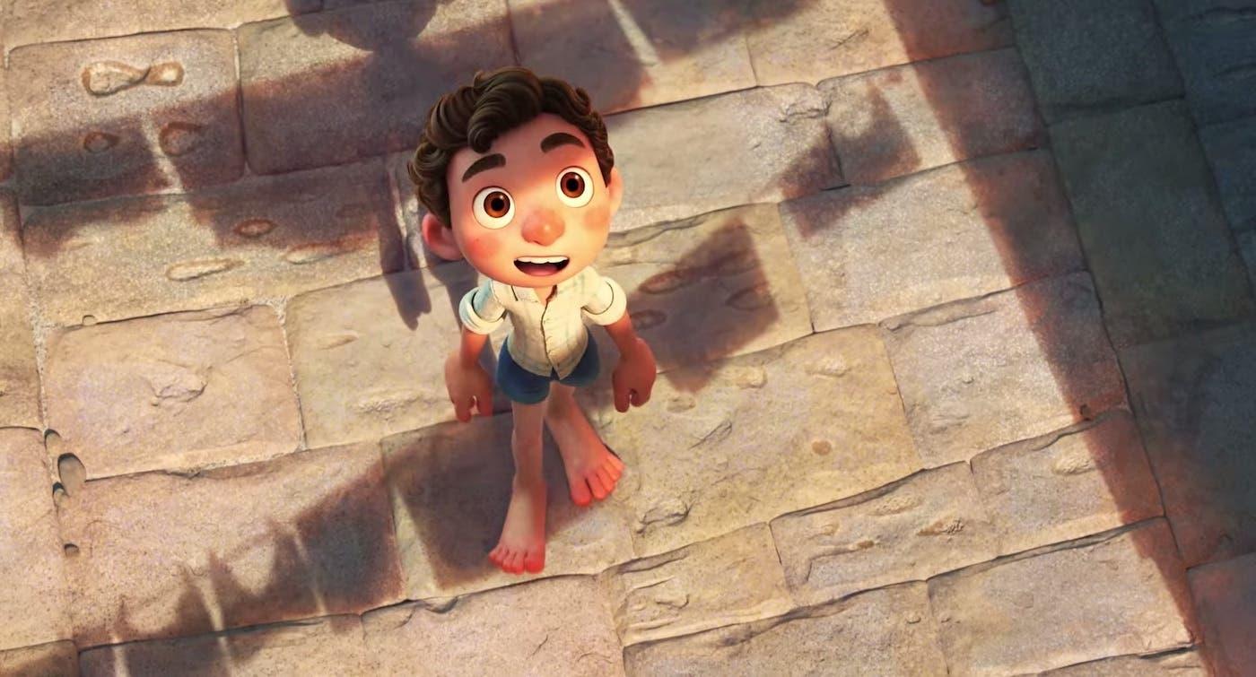 """Fotograma de la película """"Luca"""" de Enrico Casarosa."""