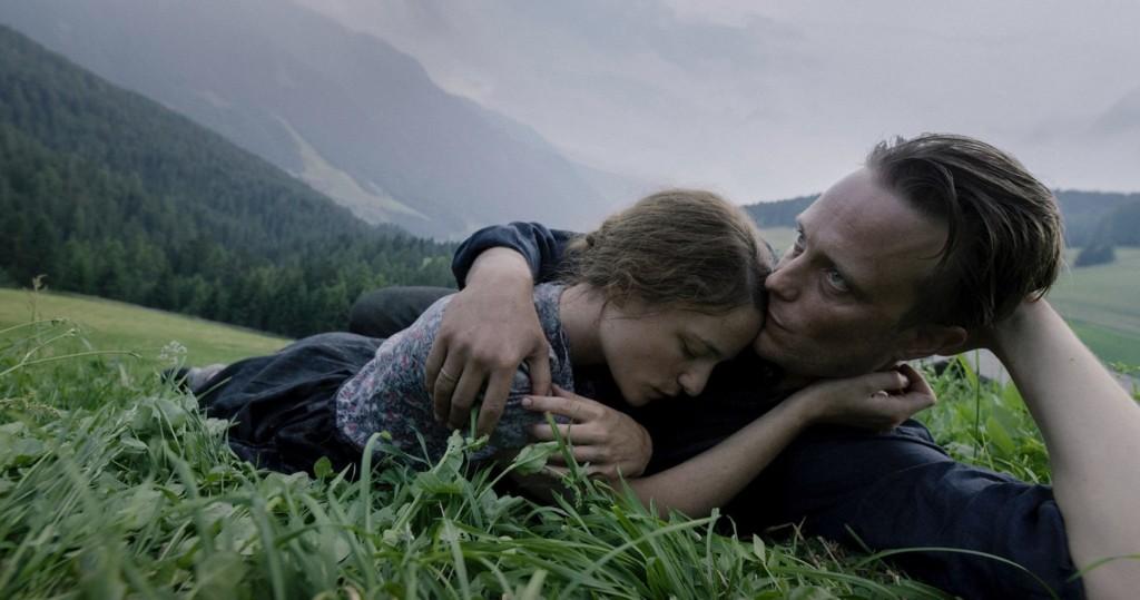 "Fotograma de la película ""Una vida oculta"" de Terrence Malick."