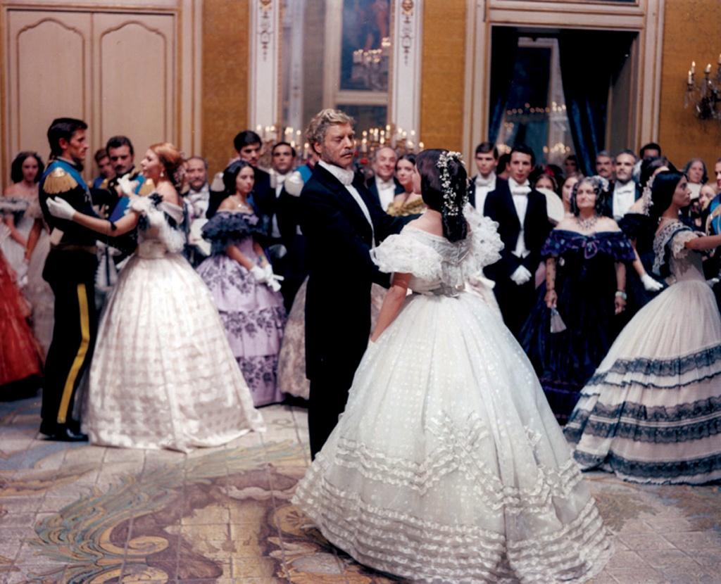"""Fotograma de """"El gatopardo"""" (1963) de Luchino Visconti."""