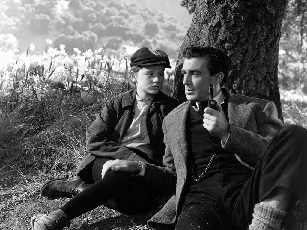 """Fotograma de la película """"¡Qué verde era mi valle!"""" (1941) de John Ford."""