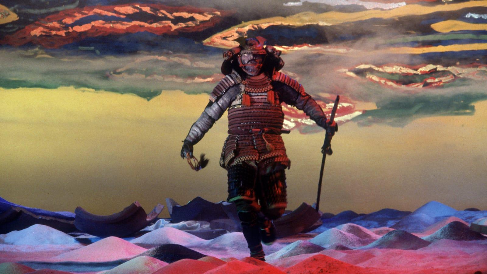 """Fotograma de la película """"Kagemusha: la sombra del guerrero"""" (1980) de Akira Kurosawa."""