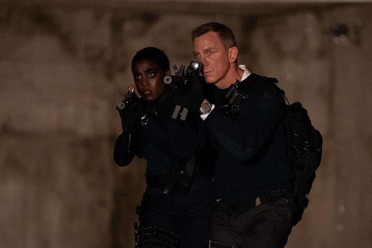 """Fotograma de la película """"Sin tiempo para morir"""" de Cary Jogi Fukunaga y protagonizada por Daniel Craig."""