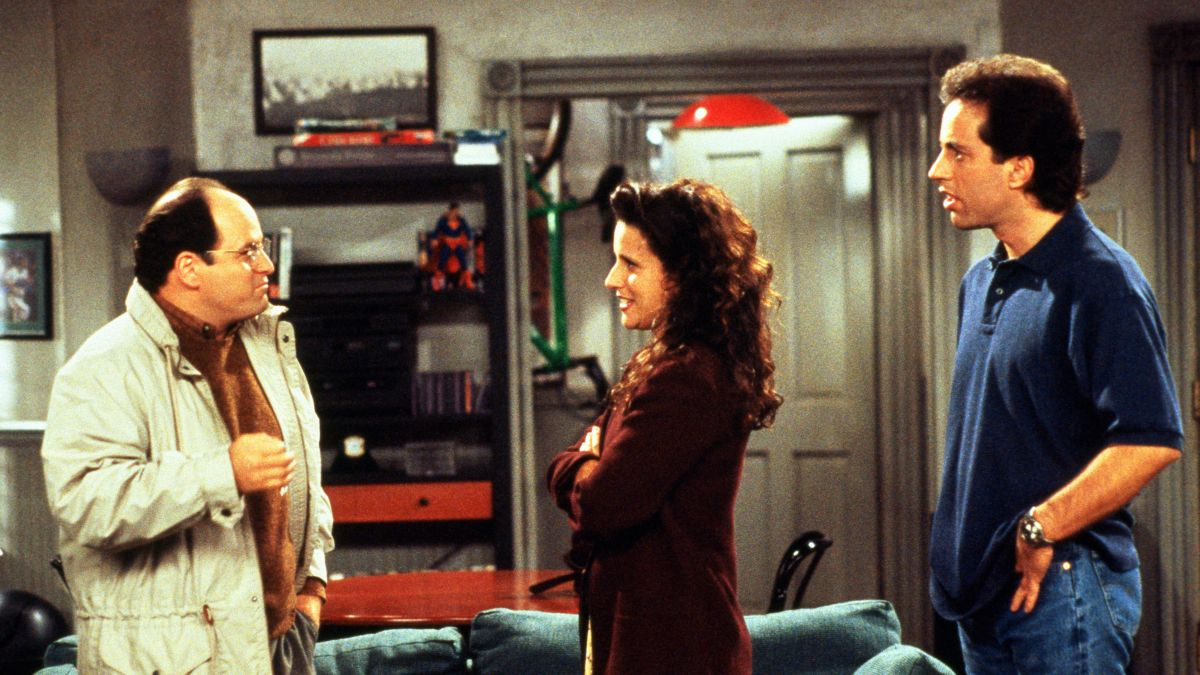 "Fotograma de la serie ""Seinfeld"", en Netflix desde el 1° de octubre."